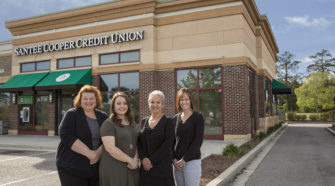 Santee Cooper Credit Union just so happens to be our neighbor here at the Insider at the Market Common.