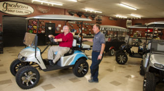 The Graham Golf Cars crew was a delight to work with according to the Insider at the Market Common.